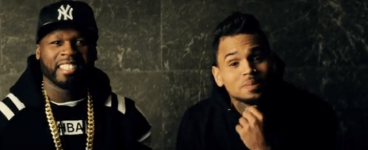 50 cent i'm the man chris brown music video