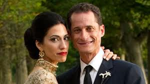 american sex scandal of Anthony Weiner and Huma Abedin