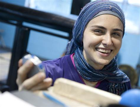 Kulsoom Muslim Weight Lifter
