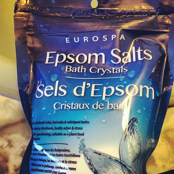 Epsom salts to the rescue