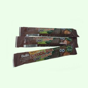 school bars choc apricot