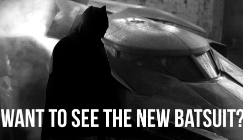 Batsuit Reveal