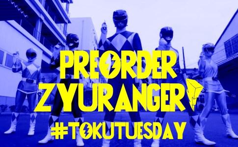 Preorder Zyuranger