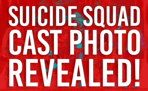 Suicide Squad Cast Photo Revealed