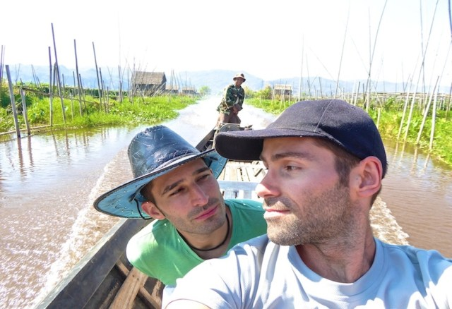 08 Learning to work as a team. Inle Lake, Myanmar, January 2015
