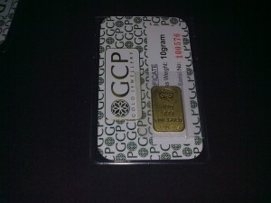 Gold Bar GCP 10g