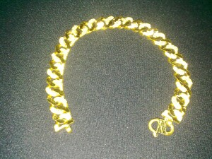 Rantai tangan GCP Pasir Padu 30.11gram emas 999