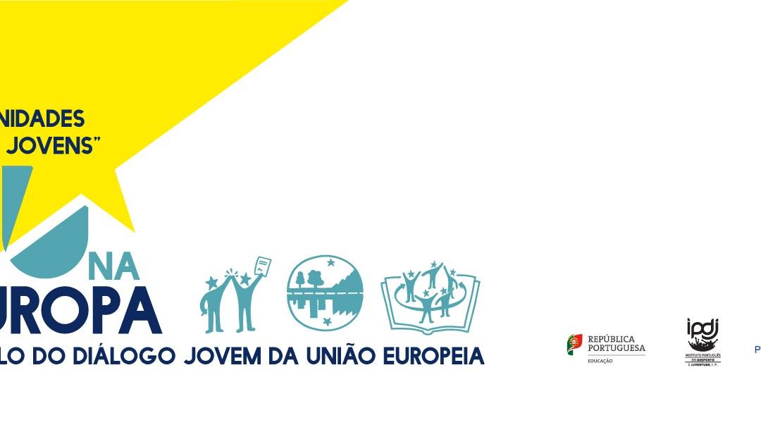 #DivulgaçãoCNJ: Tu na Europa   Auscultação Diálogo Jovem da União Europeia 2019