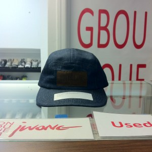 Snapback 2010 Johnny Cupcake Denim 5 Panel Cap