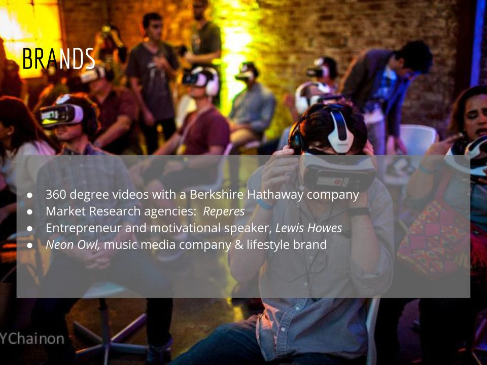 Virtual Reality Production Studio JYC VR Brands