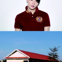 [PIC] Junsu & Xia Junsu Village in Cambodia mentioned in a school newspaper article