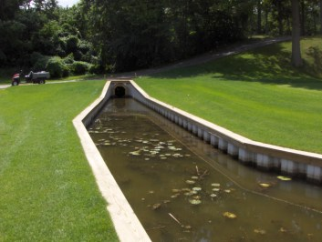 Golf Course Seawalls for water management