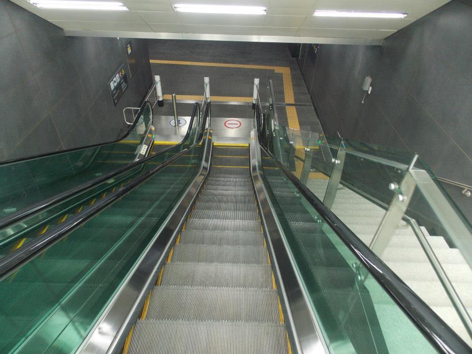 les métros de seoul
