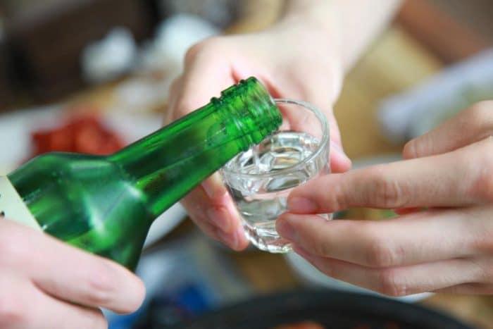 L'alcool en Corée