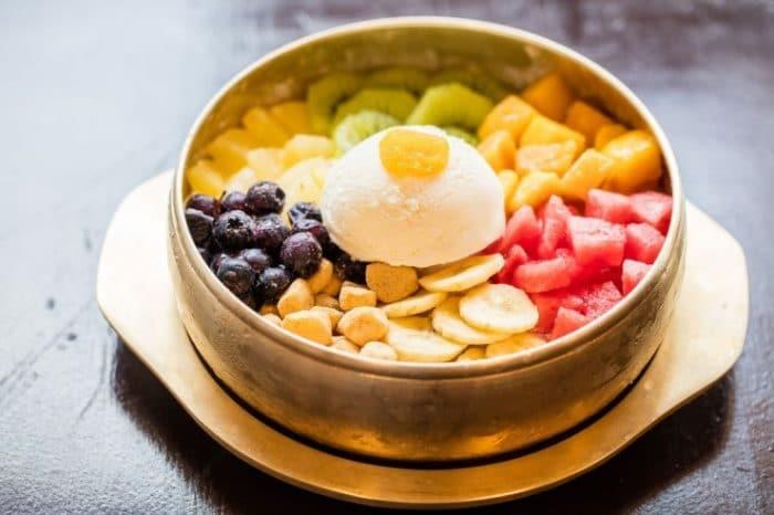 desserts coréens