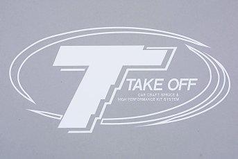 TAKE-OFFロゴステッカー