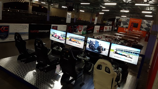 Test your skills on our new F1 Gaming simulators