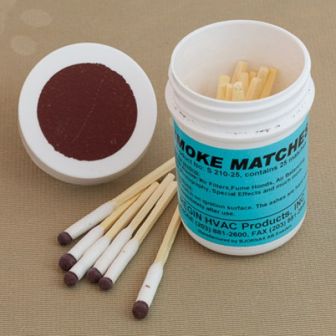 25-Smoke Matches in a Tub