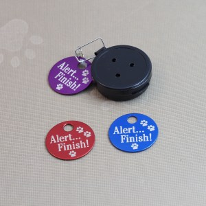 Alert... Finish Tags come in 3 different colors.
