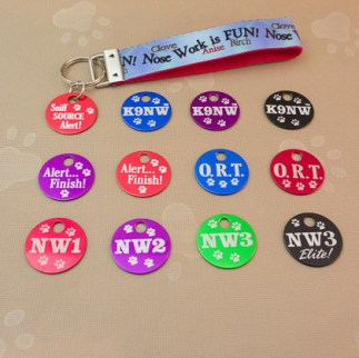 Key Loops w/ Brag Tags