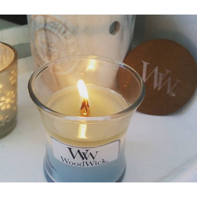 WoodWick Pure Comfort Mini Candle