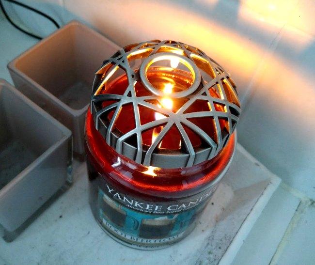 Yankee Candle Web illuma lid