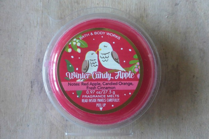 Bath & Body Works Winter Candy Apple