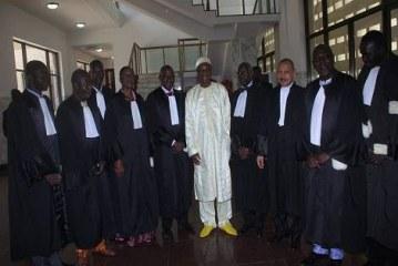 Présidentielle 2015 : la Cour constitutionnelle a reçu les résultats proclamés par la CENI