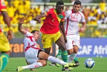 Elim. Mondial 2018: La Guinée s'incline face à la Tunisie (2-0)