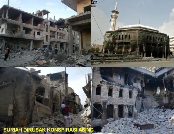 Suriah Dirusak Asing