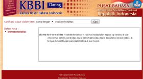 Kata-Kata Bahasa Indonesia