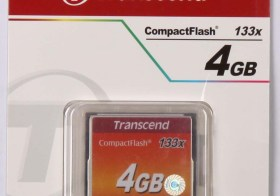 Transcend Compact Flash 133x 4GB