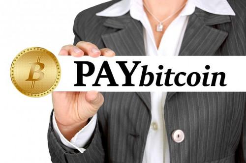 仮想通貨での支払い