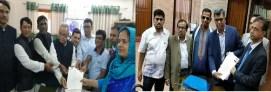 চাঁদপুর-১ আসনে বিভিন্ন রাজনৈতিক দলের ১০ প্রার্থীর মনোনয়ন পত্র জমা