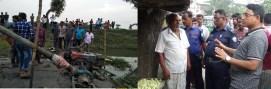 কচুয়ায় ভ্রাম্যমান আদালতে ড্রেজারের মালামাল জব্দ