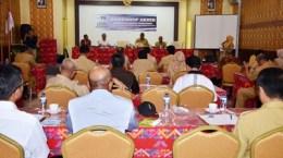 Workshop Akhir Integrated Total-Sanitation Project East Sumbawa di Muthmainnah. Foto: Hum