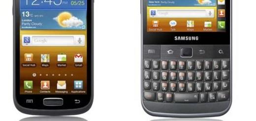 Samsung Galaxy W ja Galaxy M Pro