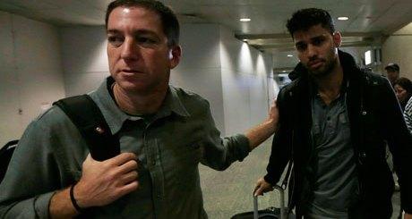 Glenn Greenwald ja David Miranda