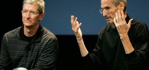 Tim Cook ja Steve Jobs