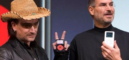 U2 Bono Steve Jobs