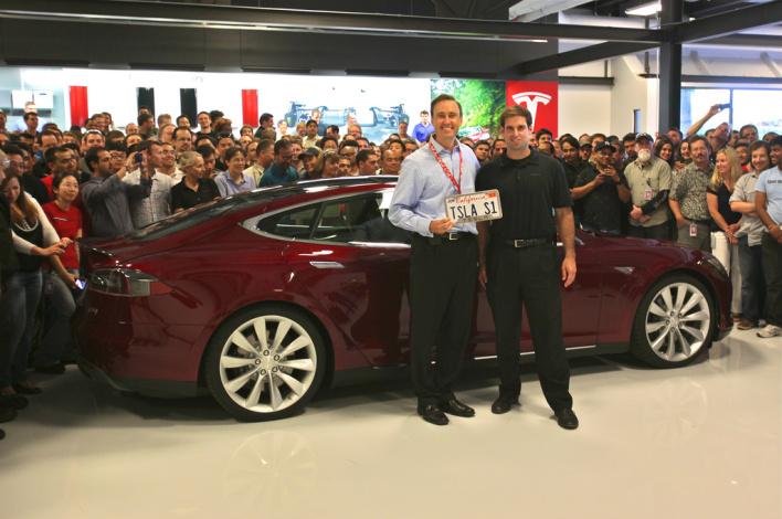Steve Jürvetson Model S