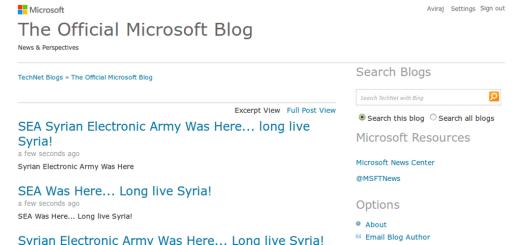 Microsoft blogi