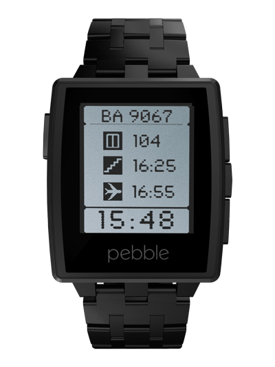 Pebble Steel must