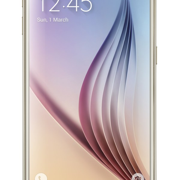 Galaxy S6_Front_Gold Platinum