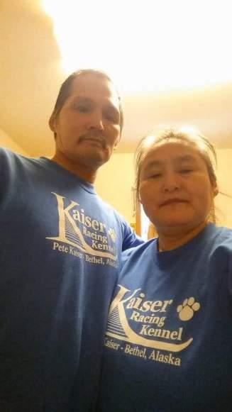 Robert and Katie Charles - Akiachak - GO Team Kaiser!