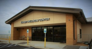 The entrance to your wellness center