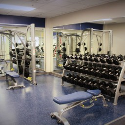 Some of our weight equipment.