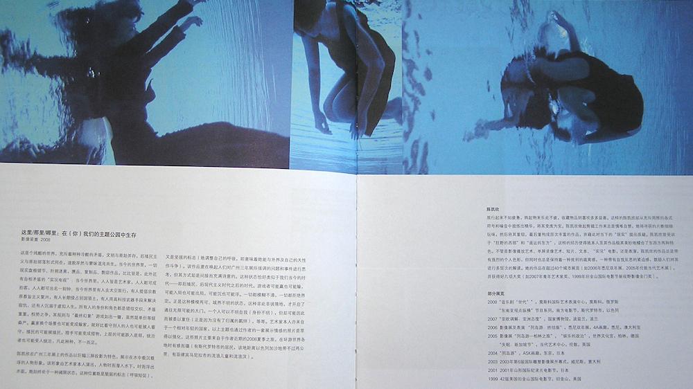 2008: Guangzhou Triennale Catalogue.