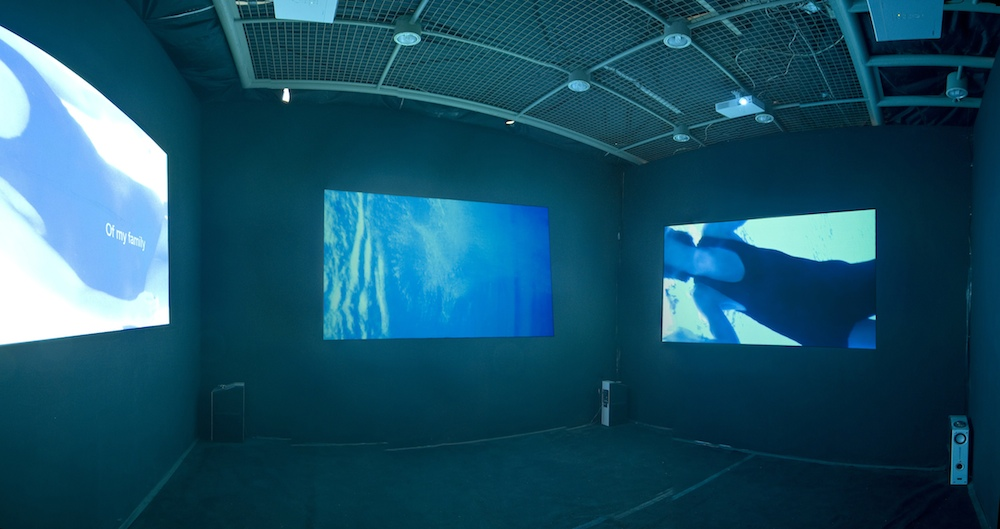 2008: My 3 projection-installation. Music by Philip Tan. Videography by Michal Larsson.