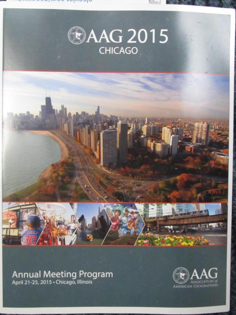 2015: Hefty Association of American Geographers (AAG) book.